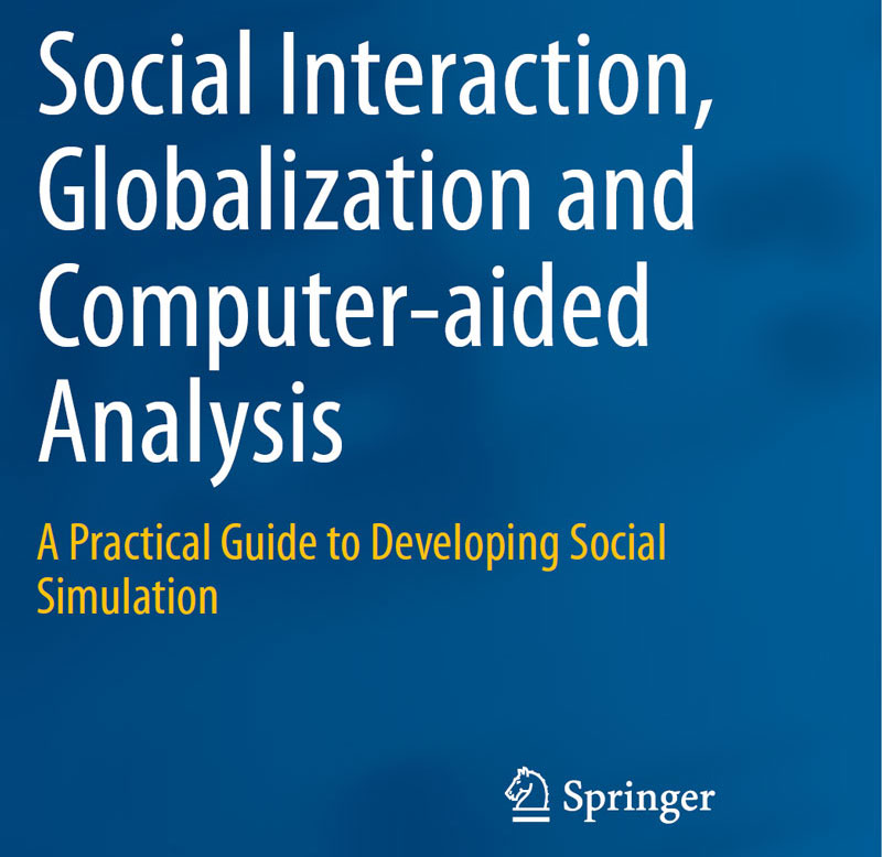 Theoretical basis for sociological and cultural analysis is laid by <a href='http://www.springer.com/gp/book/9781447162599'>a book on social simulation</a>. This book elaborates on means for analysis of interaction between humans of different cultures and introduces a robust tool for rapid prototyping of intercultural applications.